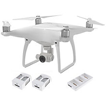 DJI Phantom 4 RTF + 2 batteries and charge hub