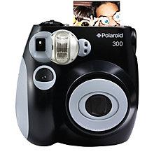 POLAROID INSTANT ANALOG CAM PIC300 BLACK