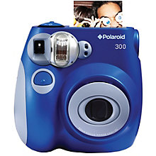 POLAROID INSTANT ANALOG CAM PIC300 BLUE