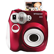 POLAROID INSTANT ANALOG CAM PIC300 RED