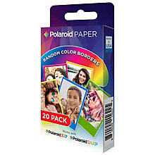 "Polaroid ZINK 2x3"" Rainbow fotopapir (20 stk.)"