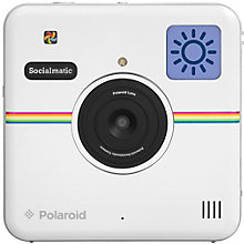 POLAROID SOCIALMATIC CAMERA WHITE