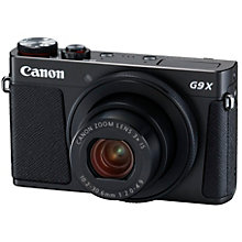 D.CAMERA Powershot G9X Mark II Black