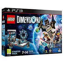 PS3-LEGO DIMENSIONS STARTER PACK