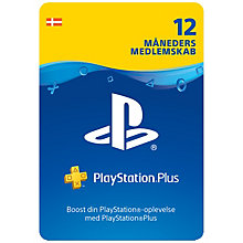 PS3-PSN PLUS CARD 12 MONTH SUB DK