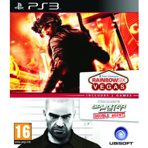 Rainbow Six: Vegas + Splinter Cell: Double Agent (PS3)