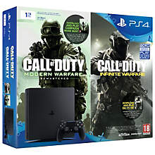 PS4 1TB SLIM INCL. COD: IW & MW DOWNLOAD VOUCER