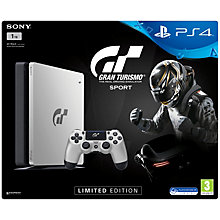 PS4 1TB SLIM INCL. GT SPORT S.E.