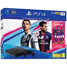 PS4 1TB SLIM INCL. FIFA 19 DEL