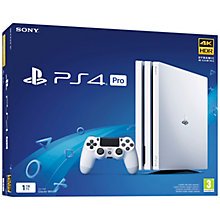 PS4 PRO 1TB WHITE
