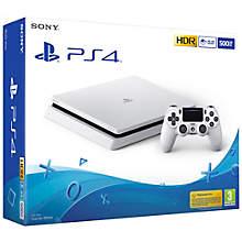 PS4 500GB E-console white