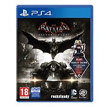 PS4-BATMAN: ARKHAM KNIGHT