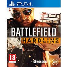 PS4-BATTLEFIELD HARDLINE_