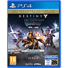 PS4-DESTINY: THE TAKEN KING