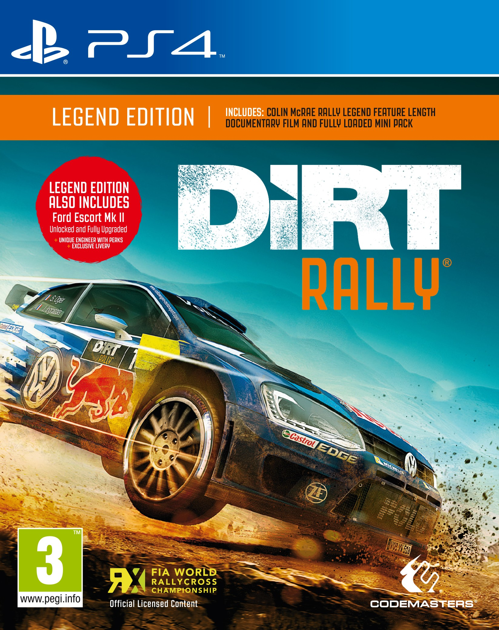 PS4DIRTRALLY : Dirt Rally (PS4)