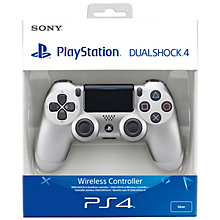 PS4-DUAL SHOCK 4 SILVER V2