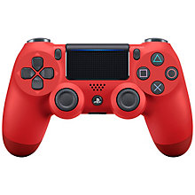 PS4-DUAL SHOCK 4 RED V2
