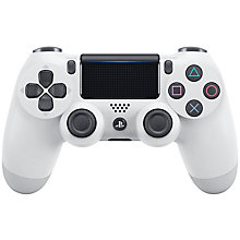 PS4-DUAL SHOCK 4 WHITE V2
