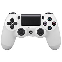 PS4-DUAL SHOCK 4 WHITE