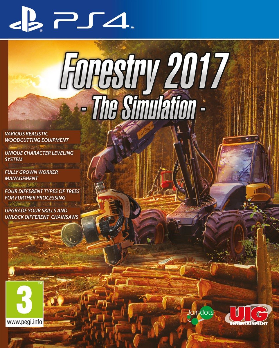 PS4FORES2017 : Forestry 2017 - The Simulation (PS4)