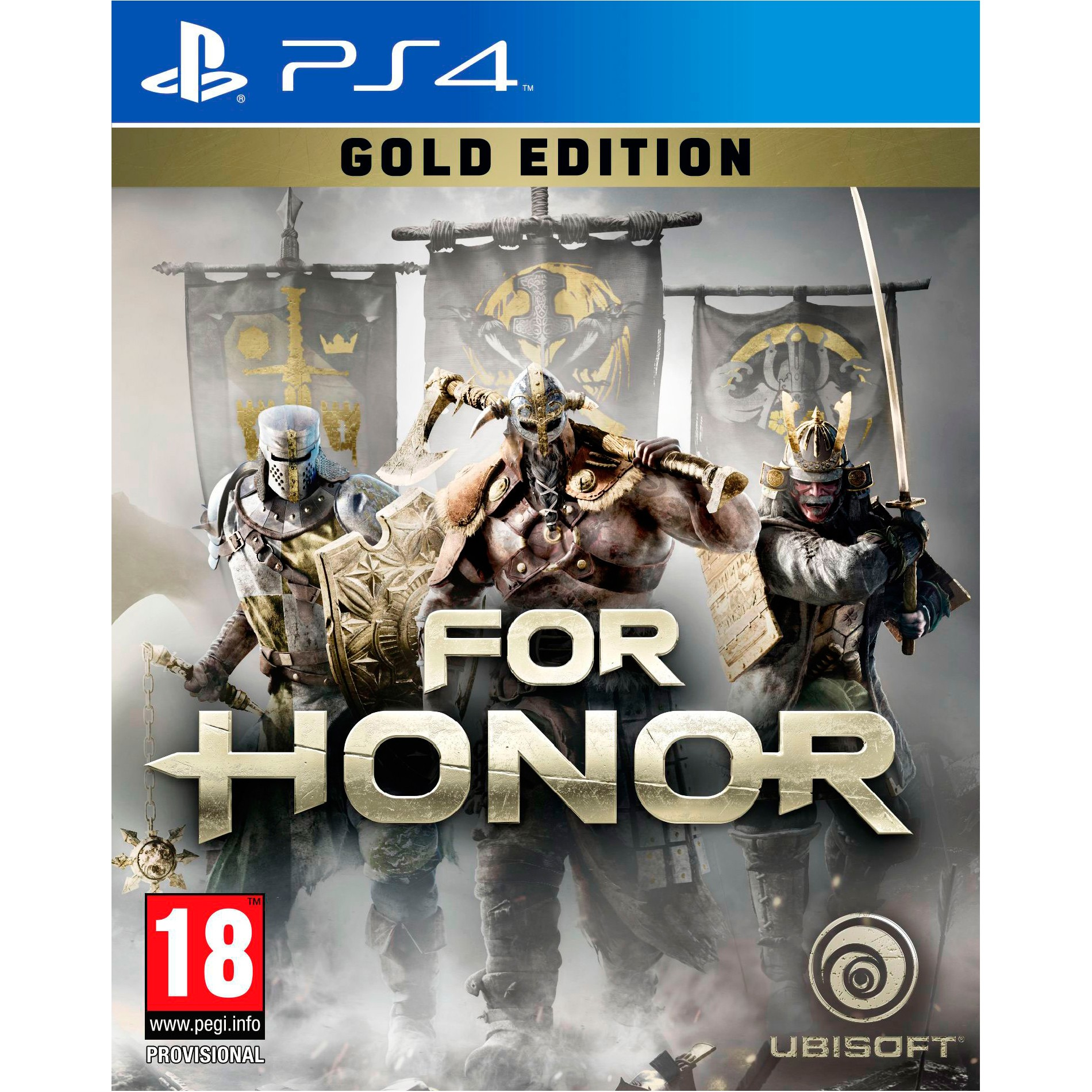 PS4FORHONORG : For Honor Gold Edition (PS4)