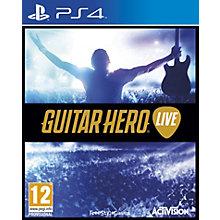 PS4-GUITAR HERO LIVE BUNDLE