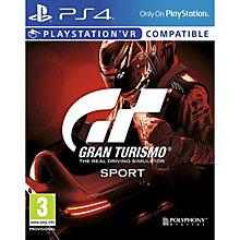 PS4 GRAN TURISMO SPORT STANDAR