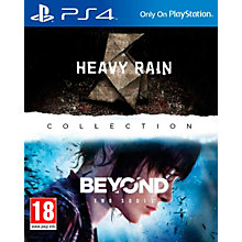 PS4-HEAVY RAIN & BEYOND TWO SOULD COLLECTION