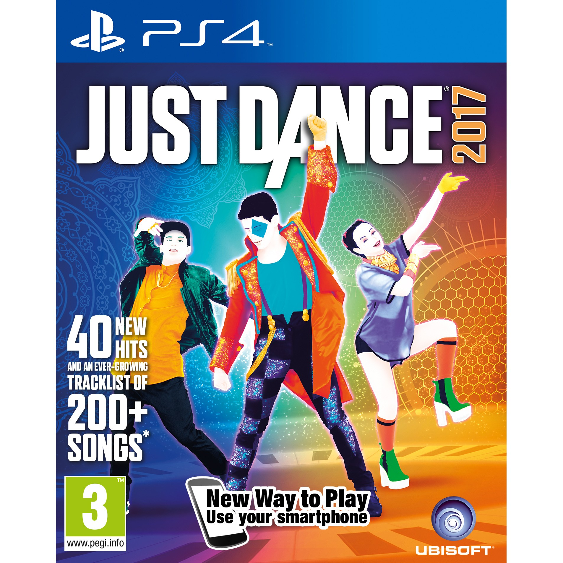 PS4JUSTD17 : Just Dance 2017 (PS4)