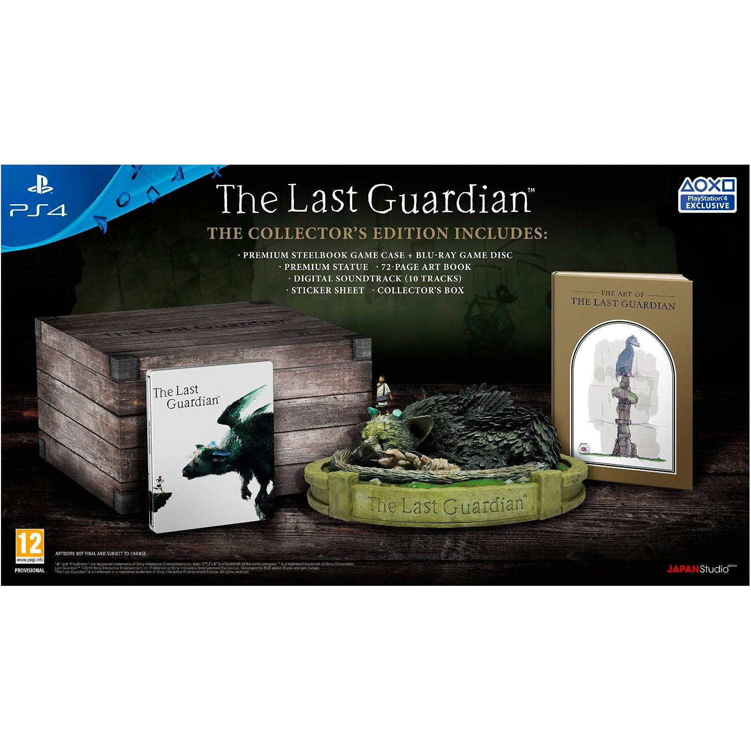 1004755 : The Last Guardian Collctor's Edition (PS4)