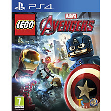 PS4-LEGO MARVEL AVENGERS