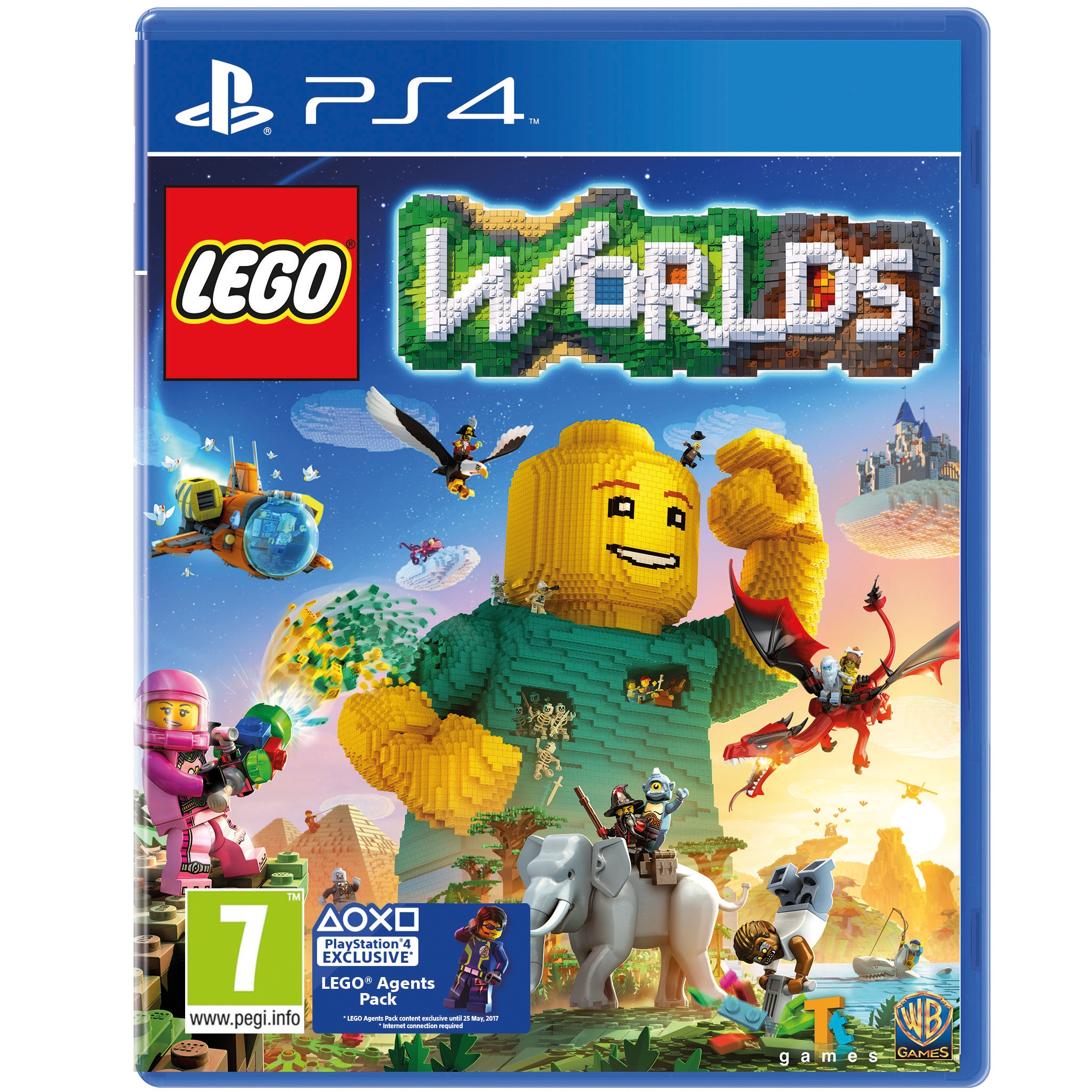 PS4LEGOWOR : LEGO Worlds (PS4)