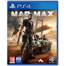 PS4-MAD MAX
