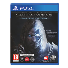 PS4-MIDDLE-EARTH: SHADOW OF MORDOR GOTY