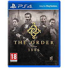 PS4-THE ORDER 1886