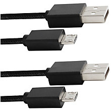 PS4-PIRANHA TWIN CHARGING CABLE 4M USB