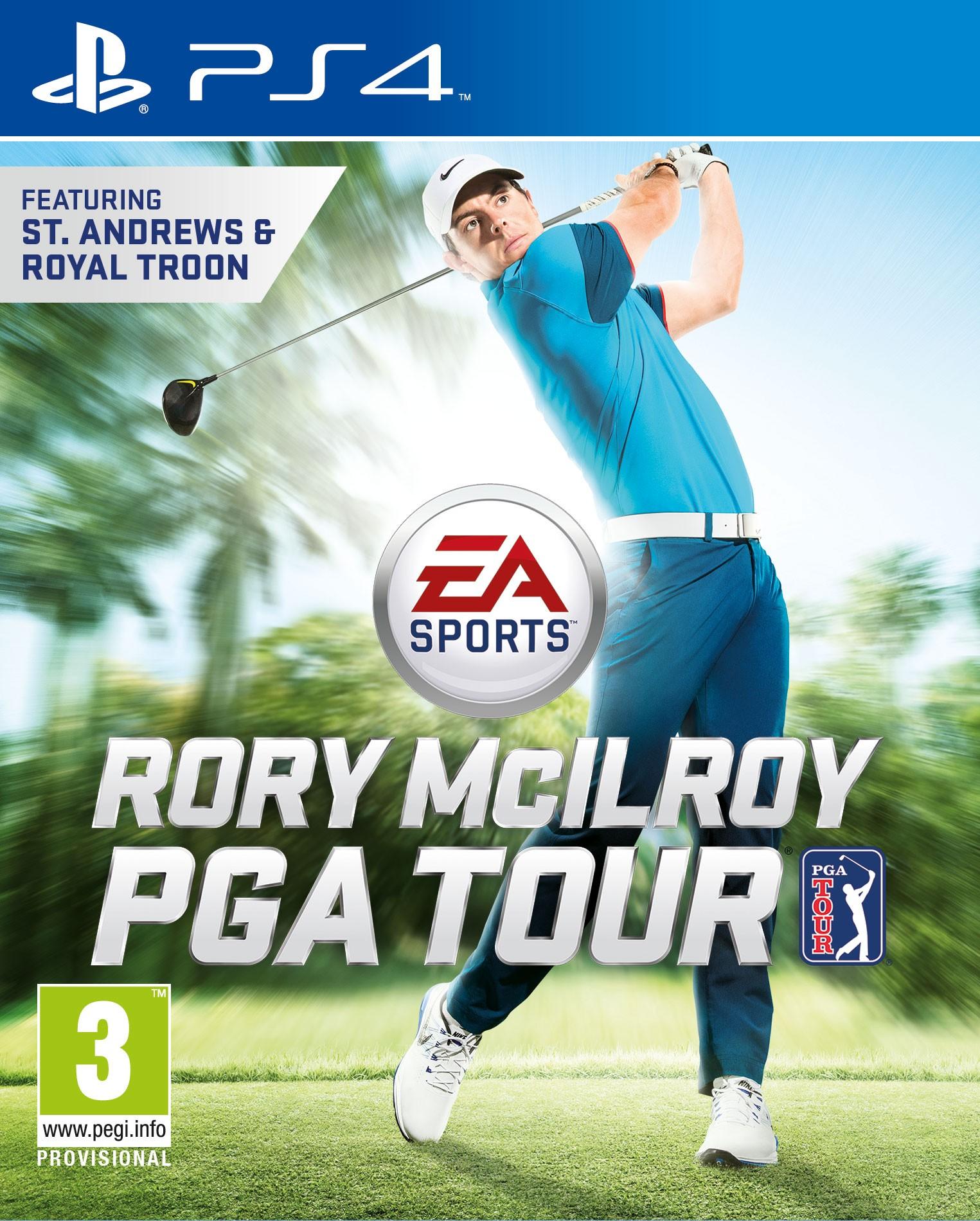 PS4RMPGA : EA Sports Rory McIlroy PGA Tour (PS4)