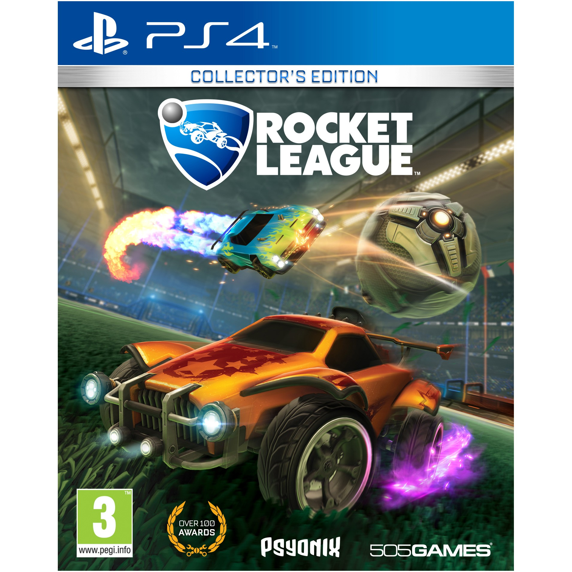 PS4ROCKETLCE : Rocket Leauge: Collector's Edition (PS4)