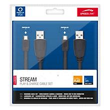 PS4-DUALSH4 CHARGING CABLE - 2 PCS. 3,0 M.