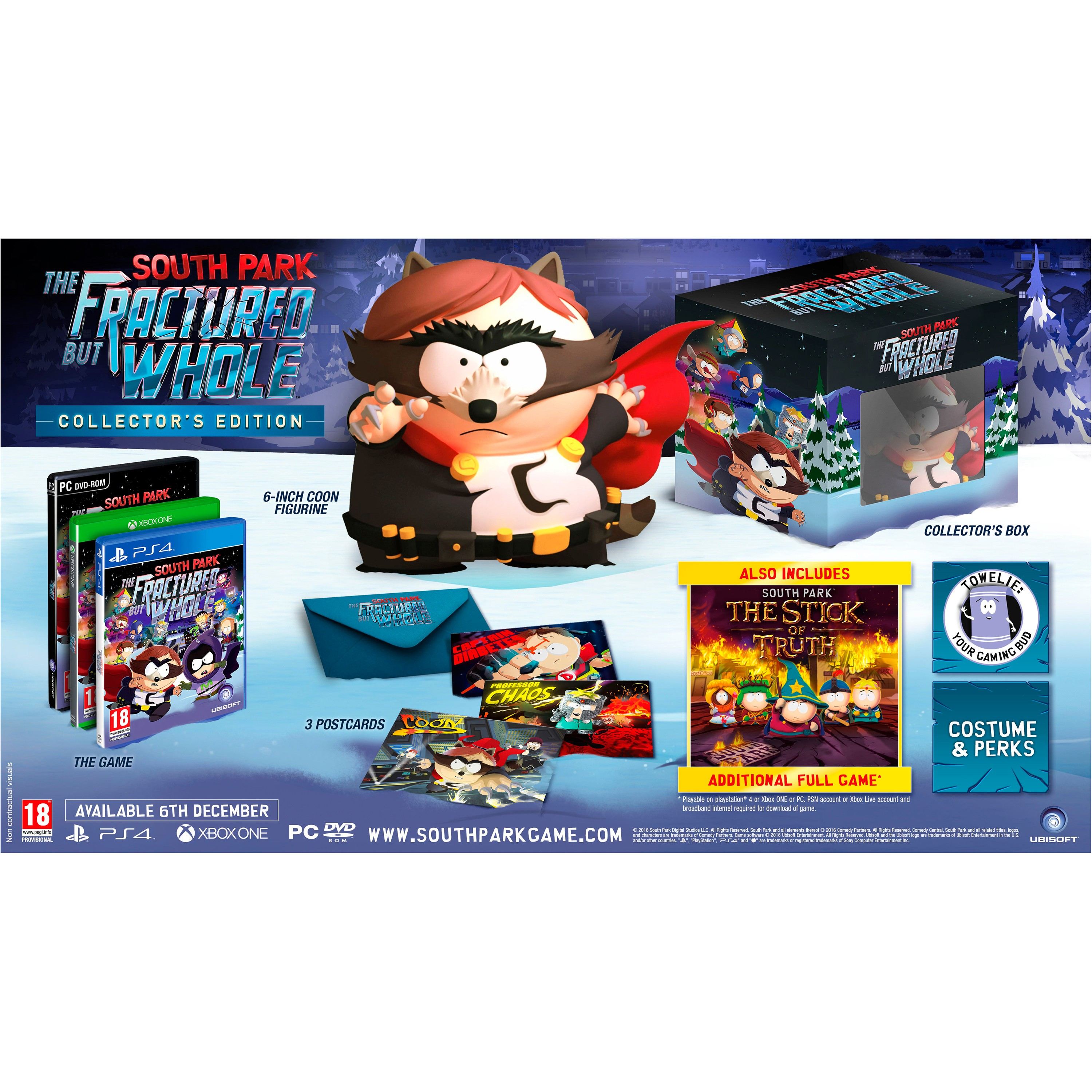 PS4SOUTHPFBC : South Park:The Fractured but Whole Collector's Ed.(PS4)