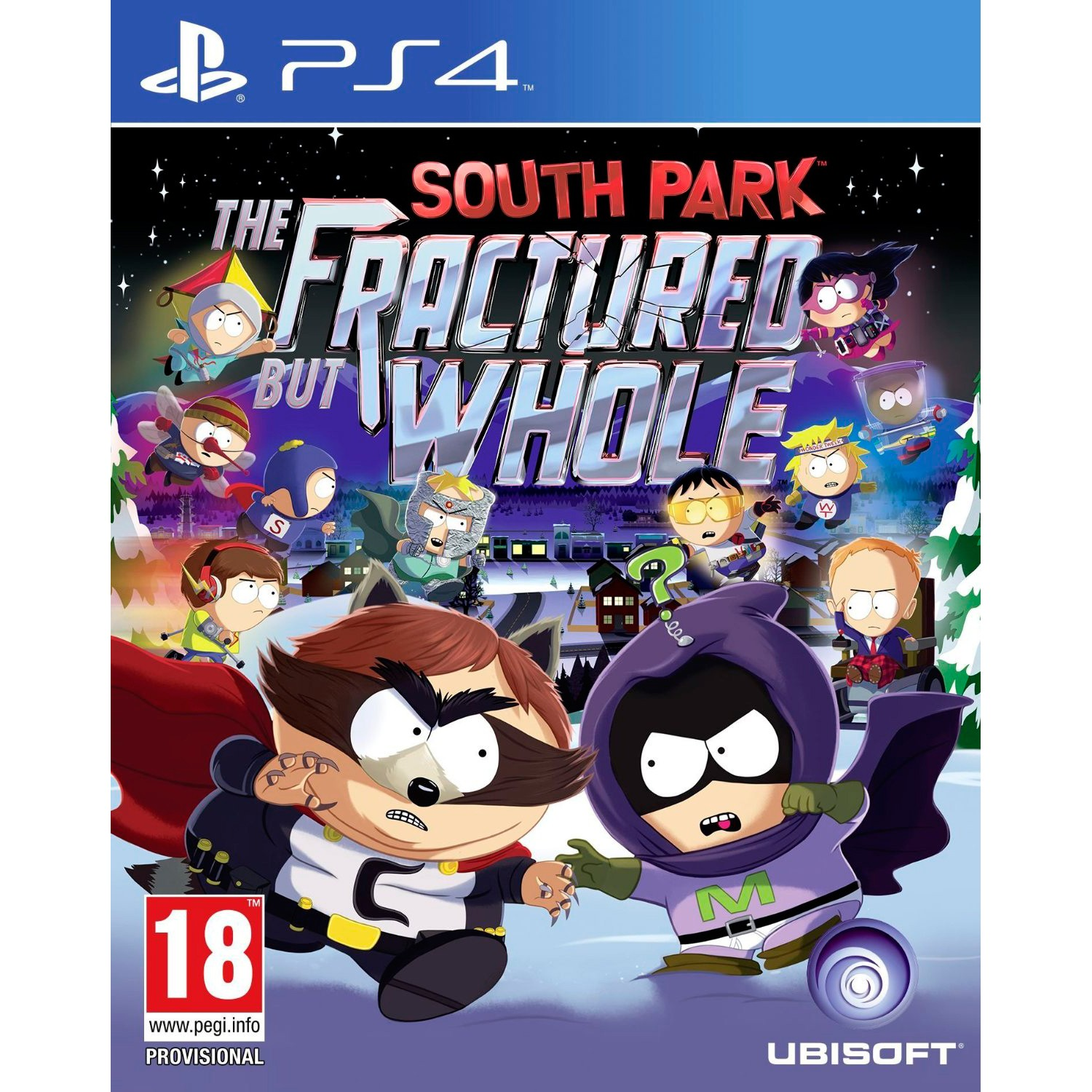 PS4SOUTHPFBW : South Park: The Fractured but Whole (PS4)