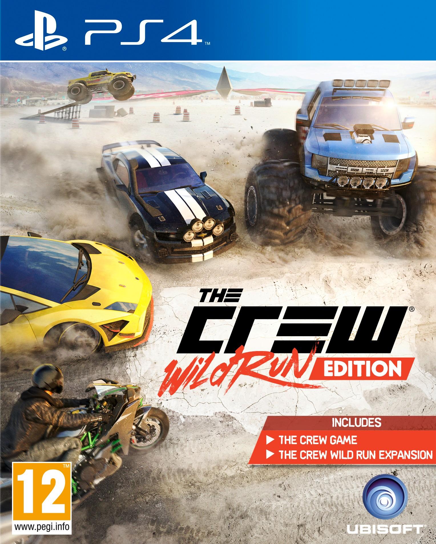 PS4THECREWRE : The Crew: Wild Run Edition (PS4)