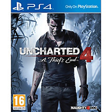 PS4-UNCHARTED 4 A THIEFS END