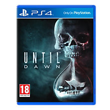 PS4-UNTIL DAWN