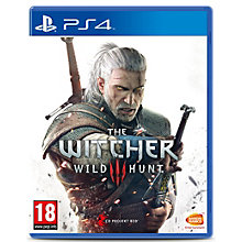 PS4-THE WITCHER 3: WILD HUNT