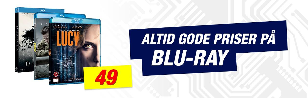 Altid gode priser på Blu-ray - 49kr