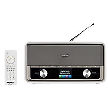 RADIONETTE FM/DAB+/INTERNETT/BLUETOOTH RADIO WHITE