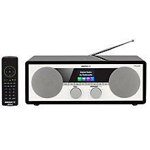 RADIONETTE FM/DAB+/INTERNETT/BLUETOOTH RADIO BLACK