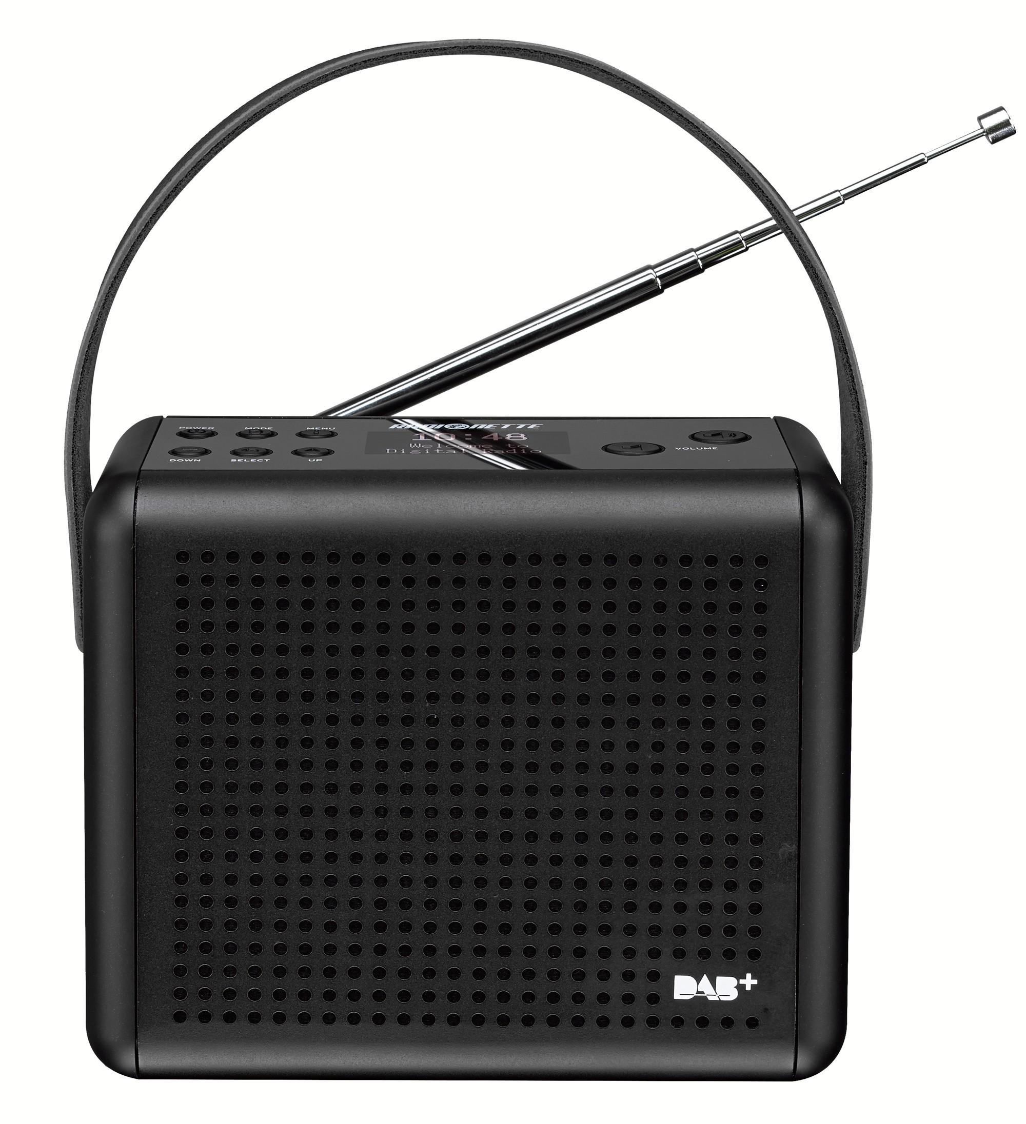 83505 : Radionette DAB+/FM radio RNPDMB14E (sort)