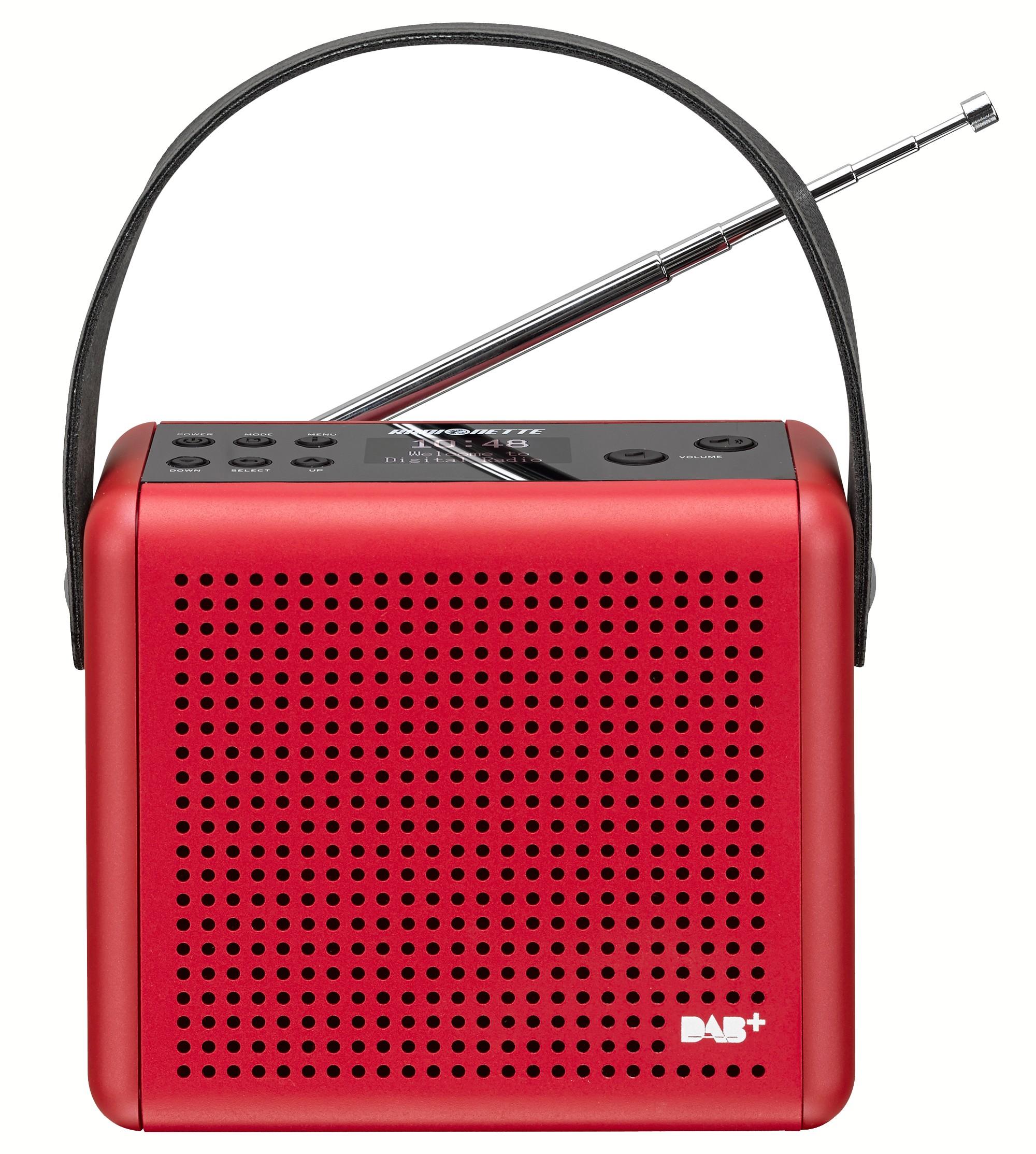 83507 : Radionette DAB+/FM radio RNPDMR14E (rød)
